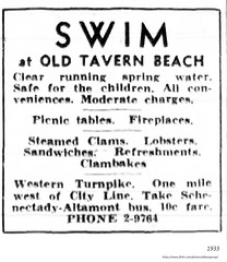 Old Tavern Beach  swimming  .. western ave  1933 - near Fuller rd. (albany group archive) Tags: 1930s grove old albany ny vintage photos picture photo photograph history historic historical