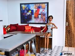 JATMAN - Tutorial City Loft Art Studio 16 (JATMANStories) Tags: 16scale 16 diorama doll dolls dollcollecting dollhouse diy fashionroyalty actionfigure barbie