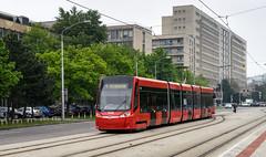 Bratislava tramway: Škoda 30T # 7508 (Amir Nurgaliyev) Tags: škoda30t bratislavatramway dpb