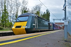 43093 (stavioni) Tags: old oak common 43093 43185 fgw gwr first great western railway rail diesel hst high speed train inter city intercity 125 power car class43