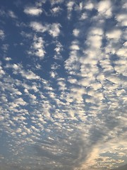 lovely cloudy sky (光輝蘇) Tags: blue morning sky kk