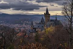 Schloss Wernigerode (hph46) Tags: harz schloss wernigerode landkreiswernigerode sachsenanhalt deutschland sonnenuntergang sony alpha6500 canonef2470mm14lisusm