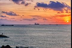 Sweet Sunset (NguyenMarcus) Tags: hdr aasia vietnam beach worldtracker sunset landscape clouds vungtau bàrịa–vũngtàu vn