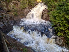 Teh way a falls should be (Nancleve) Tags: ns water flooding truro victoria park heavyrains