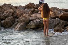 Some Nice Rocks! (jiroseM43) Tags: rocks water bikini olympus em10 1445mm m43 swimsuit