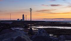 Iceland (TomST.Photography) Tags: iceland north nord norden travelnorth islanda nature lighthouse light lighttower sea atlanicsea sunset midnight midnightsun reykjavik leuchtturm sky ocean atlanticsea tide atlantik