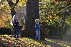 The Kids in Olivia Park (Joe Shlabotnik) Tags: november2018 foresthills violet fall everett autumn foresthillsgardens queens 2018 foliage afsdxvrzoomnikkor18105mmf3556ged