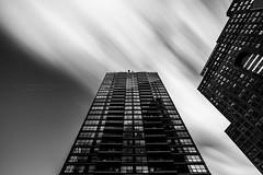 Toronto (HisPhotographs.com) Tags: 15stop toronto downtown architecture building buildings bw monochrome condo condos condominium city esplanade scott street longexposure clouds nd filter ndfilter ontario canada cloud cloudy