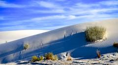 Long Shadows (Mark A. Morgan) Tags: white sands national monumentnew mexicomark a morgan shadows sand dunes