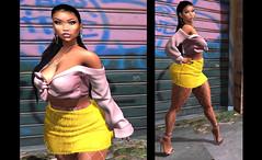 LOTD 501 .sicaria. (Daphne Kyong - The Real Slim Shady) Tags: ryca sicaria yellow pink