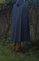 VinylCape-blue-1 (Umhaenge2010) Tags: cape umhang cloak pèlerine pelerin peleryna raincape capeimperméable regencape