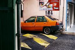 (Hem.Odd) Tags: kualalumpur malaysia fd50mmf18 canonae1program fujicolorc200 speedbump car proton parked