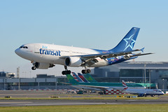 C-GTSH Air Transat Airbus A310 EIDW 27/9/18 (David K- IOM Pics) Tags: eidw dub dublin collinstown airport cgtsh tsc ts air transat airbus a310