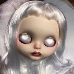 WIP #10 (hellomonsieurwolf) Tags: customblythe customdoll wolf monsieur fair white eyes albino toy tbl girl custom doll blythe 10