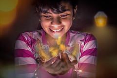 Sonriendo (roymaci) Tags: performance gig music hall concert lens flare rave clubbing hand raised glow stick festival popular lensflares risa sonrisa smile smiles luces lights mágico magic portrait