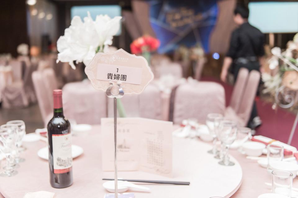 台南東東宴會式場 婚宴 走在幸福的紅毯上 R & B 089