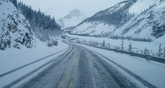 Jasper Parkway (Mr. Happy Face - Peace :)) Tags: winter albertabound snow scenery landscape jasper parkway banffpark
