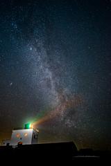 Shocked Lighthouse & Milky Way (Squareburn) Tags: bamburgh lighthouse nightscape sky stars milkyway northumberland astrophotography