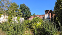 Former Willimantic Thread Mill #4 (Willimantic, Connecticut) (jjbers) Tags: thread mill willimantic mills burned down abandoned vacant demolished destroyed connecticut