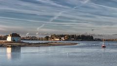 Saint Cado (Mirarmor) Tags: mer bretagne morbihan maison port bateaux ciel nuages friends greatphotographers