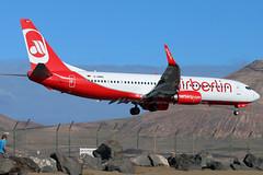 D-ABMQ_02 (GH@BHD) Tags: dabmq boeing 737 738 b737 b738 737800 ab ber airberlin airliner aircraft aviation ace gcrr arrecifeairport lanzarote