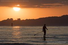 Por do Sol em Santos (Stefan Lambauer) Tags: praia standup surf surfista mar sea santos pordosol sunset people sun sol cidade beach stefanlambauer 2018 brasil brazil sãopaulo br paddle standuppaddle