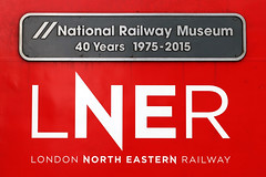 43238 'National Railway Museum 40 years 1975 - 2015' (Cumberland Patriot) Tags: lner london north eastern railway inter city intercity 125 ic125 ic high speed train hst mtu diesel engine br british railways class 43 power car 43038 dundee 43238 nrm national rail museum 40 years 1975 2015 dieselelectric 1e09 edinburgh waverley kings cross express passenger ecml east coast main line mainline newcastle central station platform three railroad