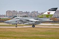 RAF Panavia Tornado GR4 ZA395 (Vortex Photography - Duncan Monk) Tags: raf royal air force panavia tornado gr4 ground attack jet aircraft aviation lossiemouth egqs za395 12b squadron disbandment 2014