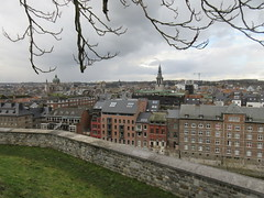City view from the Citadelle, Namur, Belgium (Paul McClure DC) Tags: namur namen belgium belgique wallonia wallonie feb2018 historic architecture scenery castle citadel cathedral ardennes