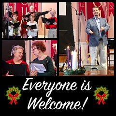 Everyone Is Welcome at Beacon Hill Church (nomad7674) Tags: 2018 december ad instagram advertisement beacon hill church efca evangelical free monroe ct connecticut monroect diptic diptych grid collage