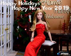 JATMAN Holidays 2018 - 002 (JATMANStories) Tags: barbie mattel fashionroyalty 16scale 16