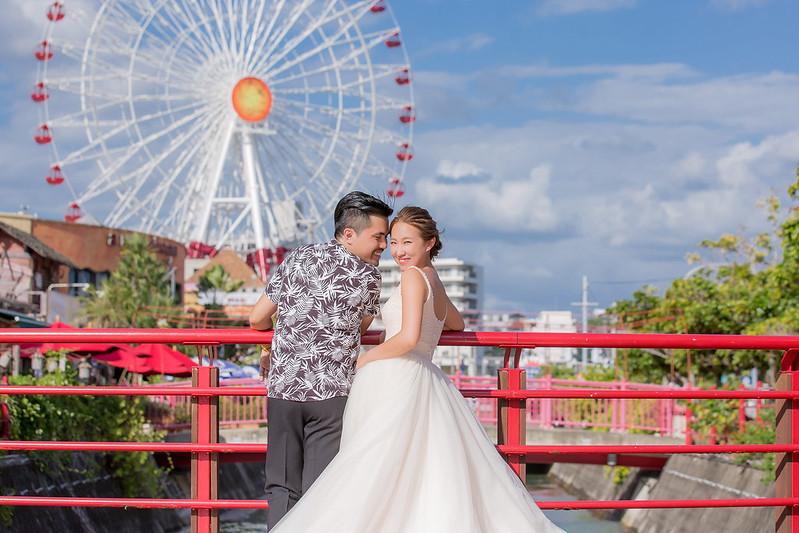 沖繩婚禮,沖繩教堂,沖繩婚紗,海島婚禮,海外婚禮,美國村