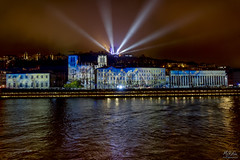 Reflets (MeKAiles Photographie) Tags: lyon fete fête lumières 2018 mekailes sony rx10m3 rx rx10 rx10iii bridge reflections reflection reflects colored colors night nightshot long exposure town street france french landscape landscapes lights saone