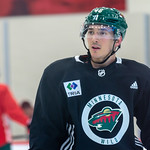 Jared Spurgeon at Minnesota Wild open practice at Tria Rink in St Paul, MN thumbnail