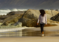 Bad Hair Day (david.gill12) Tags: woman windy hairstyle sand beach sea