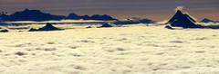The Matterhorn (oobwoodman) Tags: switzerland suisse schweiz aerial aerien luftaufnahme gvavie alps alpen alpes mountains montagne berge clouds nuages wolken nebelmeer brouillard fog seaoffog nebel matterhorn cervin cervino