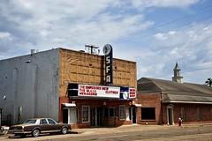 SFA Theater - Nacogdoches,Texas. (Rob Sneed) Tags: usa texas nacogdoches easttexas pineywoods sfa stephenfaustinstateuniversity theater sign vintage texana americana roadtrip urban collegetown cinema neon