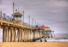 Huntington Pier Rainy 1-4-19 (rod1691) Tags: huntington beach pier california socal sand surf