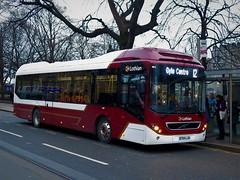 Lothian Buses 45 (BT64LJA) - 19-01-19 (peter_b2008) Tags: lothianbuses volvo7900 hybrid 45 bt64lja edinburgh buses coaches transport buspictures