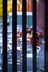 Terrasse interdite (Gerard Hermand) Tags: 1902076964 gerardhermand france paris canon eos5dmarkii montparnasse grille fence barreau bar chaise chair metal