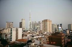 Window view (Tuan Anh Sym) Tags: mju2 mju stylus olympus 35mm 135 saigon vietnam film noritsu kodak developing contrast