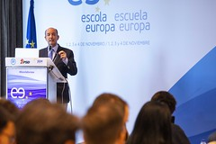 Sessão de abertura da Escola Europa