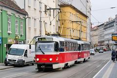 BTS_7799_201811 (Tram Photos) Tags: ckd tatra t3 t3p bratislava dopravnýpodnikbratislava dpb strasenbahn tram tramway električková mhd električka