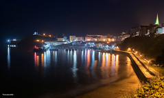 Tenby Harbour (technodean2000) Tags: nikon d610 lightroom uk wales welsh tenby pembroke pembrokshire night sand beach marina reflections outdoor ©technodean2000 d810 south photographer technodean2000 lr ps photoshop nik collection flickr photo city boat water
