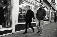 Crazy Gang (Bury Gardener) Tags: burystedmunds blackandwhite monochrome mono suffolk street streetphotography streetcandids snaps strangers candid candids people peoplewatching folks 2018 nikond7200 nikon england eastanglia uk britain stjohnsstreet