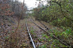 Bombardier Prorail  Approach (davehell) Tags: horbury ossett wakefield abandonedrailway disusedrailway rails westyorkshirerailway levelcrossing works yorkshirerail