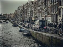 Amsterdam - Vintage (michaelhertel) Tags: amsterdam street vintage people travel nik