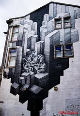Nuart Aberdeen (red.richard) Tags: nuart aberdeen wall art painting windows