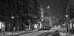 winter in the city (Toni_V) Tags: rangefinder messsucher leicam leica mp typ240 type240 35lux 35mmf14asphfle 35mm bahnhofstrasse zurich zürich city stadt bw monochrome sep2 silverefexpro2 niksoftware blackwhite weihnachtsbeleuchtung lucy snow schnee switzerland schweiz suisse svizzera svizra europe sundaymorningphototour ©toniv 2018 181216