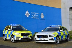 Volvo Demonstrators (S11 AUN) Tags: cleveland police volvo v90 xc90 4x4 d5 powerpulse estate demo demonstrator anpr armed response vehicle arv traffic car roads policing unit rpu 999 emergency kx68nfu ku18yfh